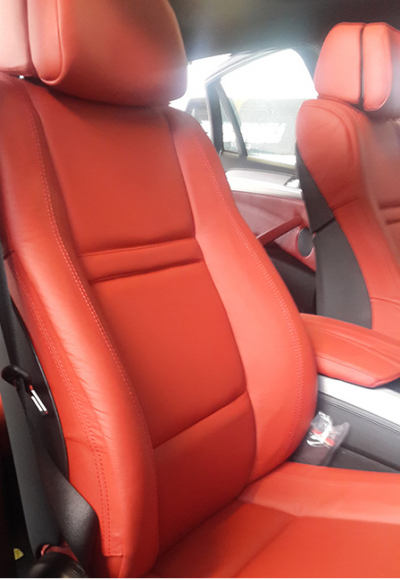 BMW Leather Interior