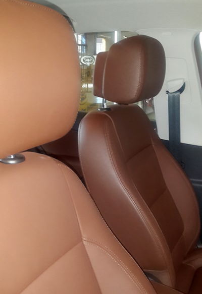 Nissan Leather interior