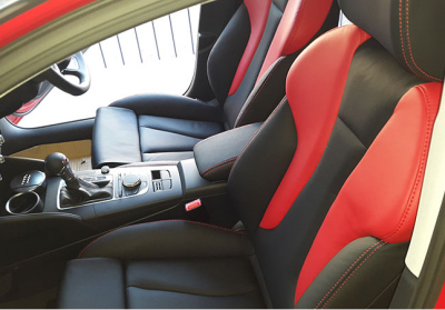 Audi Leather Interior