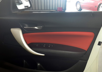 BMW Leather Interior