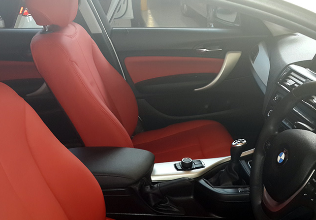 Bmw Leather Interior Mccarthys Auto Trimmers