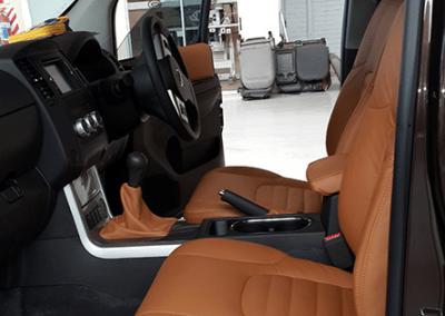 Nissan Leather interior