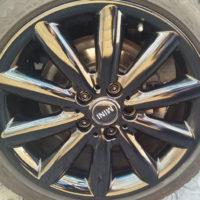 Alloy Wheel Rim Repairs - Mini Rim after