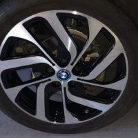 Diamond Cut Rim Repair - BMW Rim after
