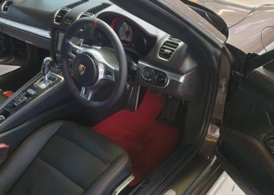 Porsche leather interior