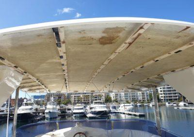 boat roof lining repair 2