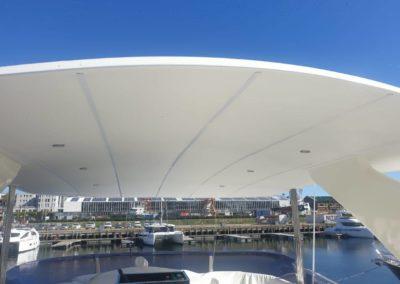 boat roof lining repair