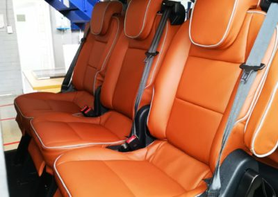 Ford Tourneo with tan leather